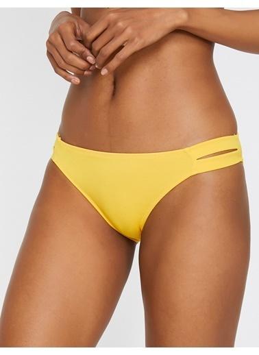 Koton Bikini Alt Sarı